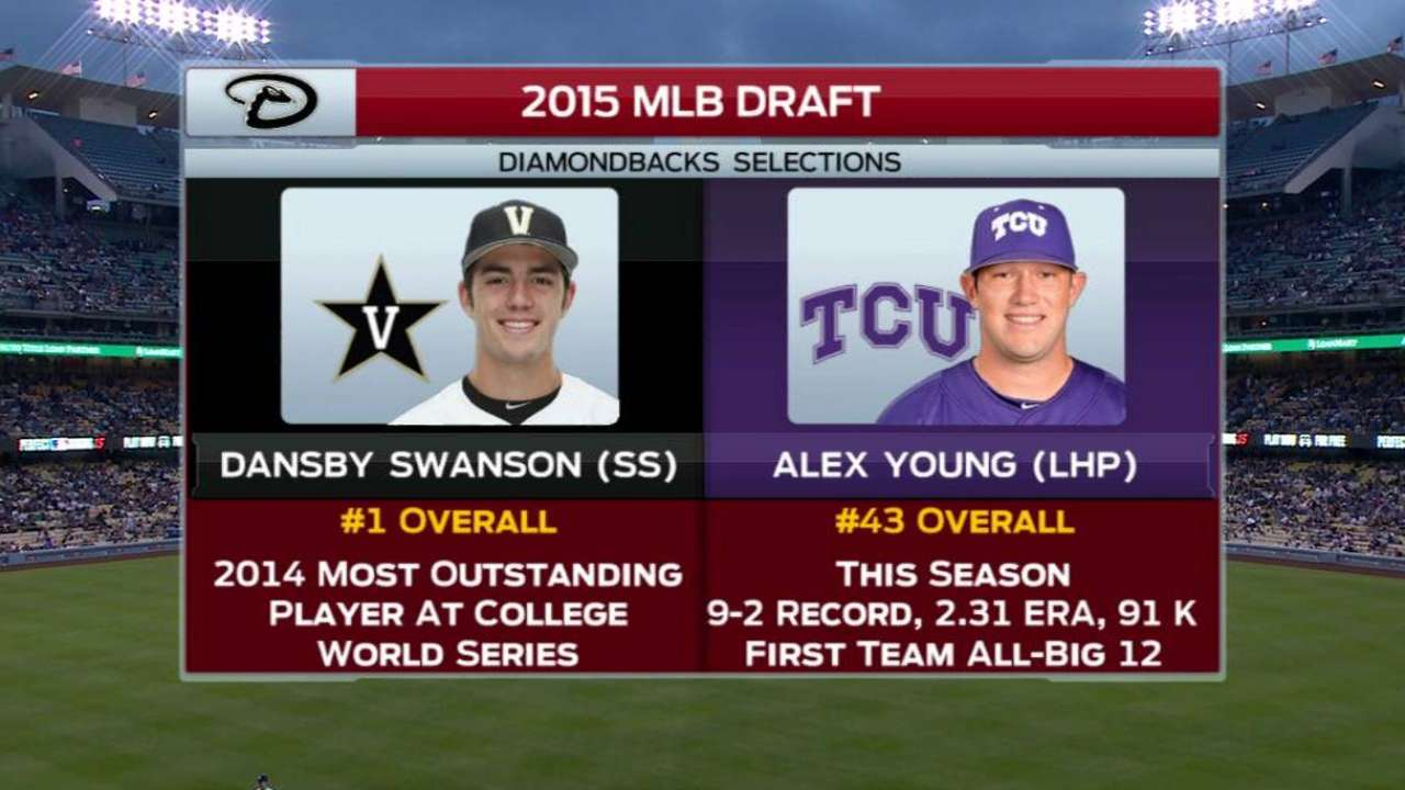 With Draft over, signing phase begins for D-backs