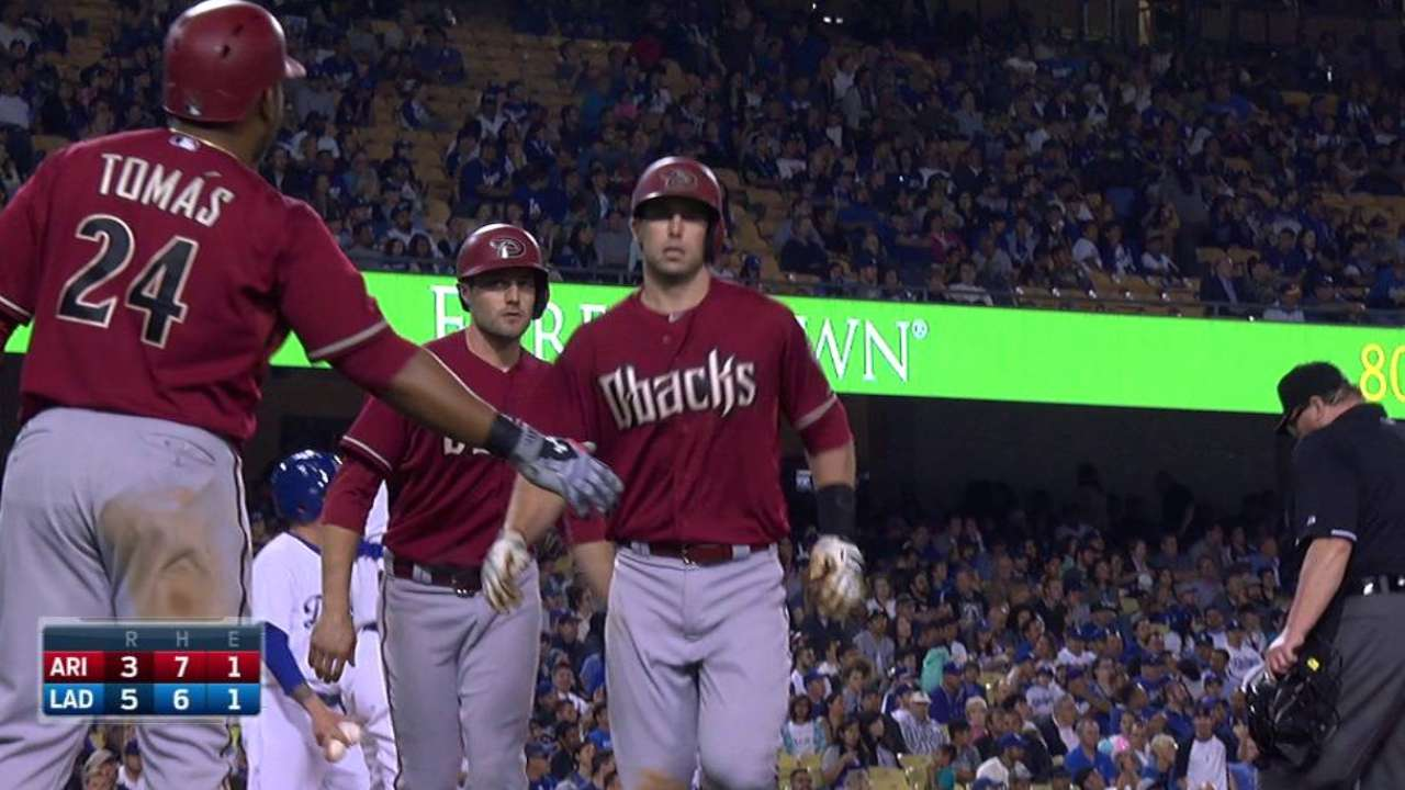 Goldschmidt low key about 100th home run