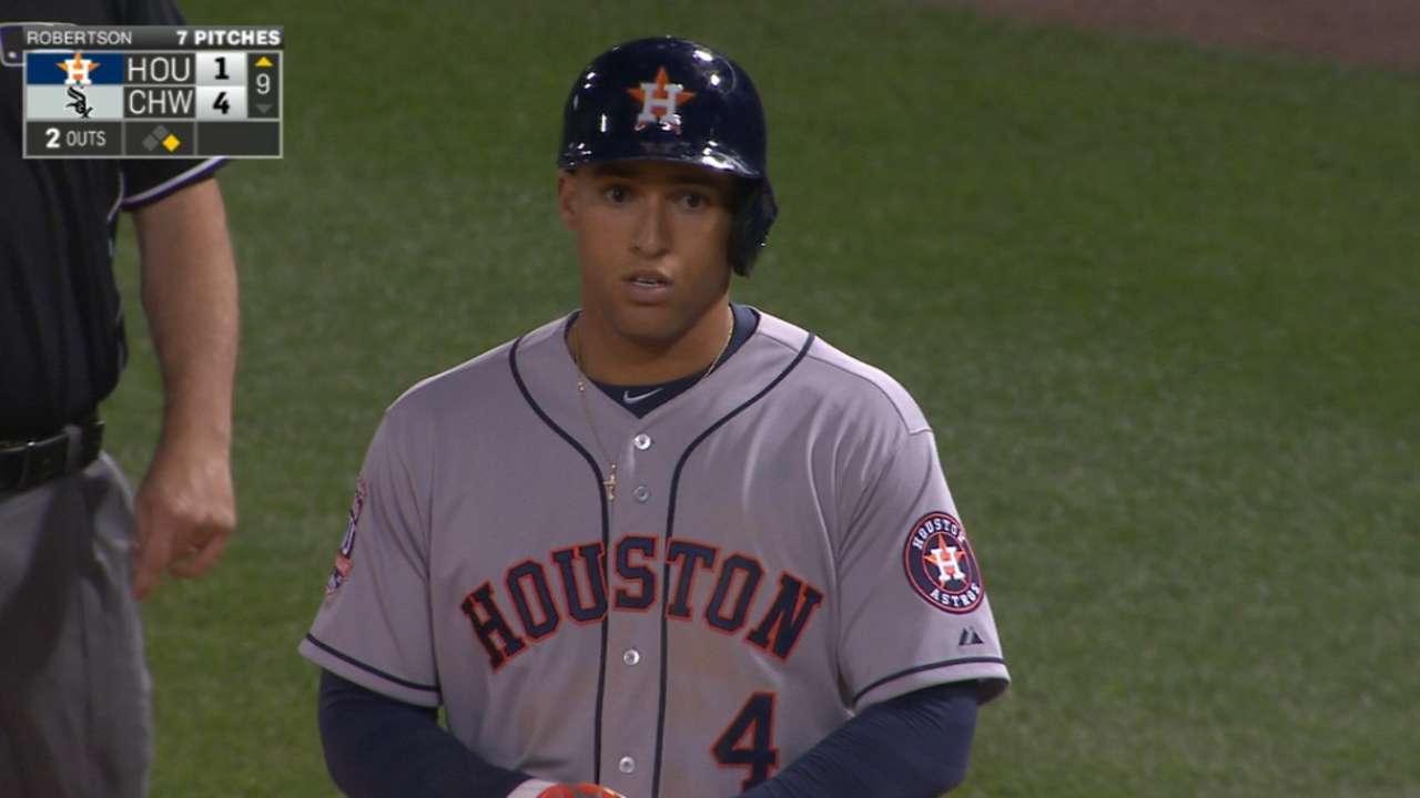 Springer's five-hit game