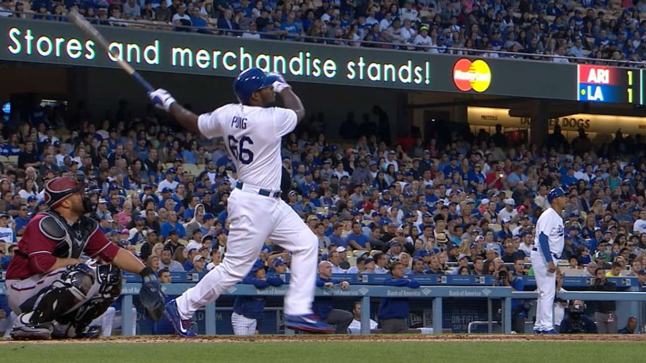 Puig's four-hit game