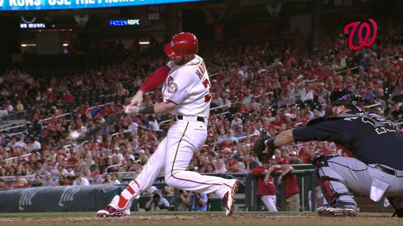 Must C: Harper blasts two homers