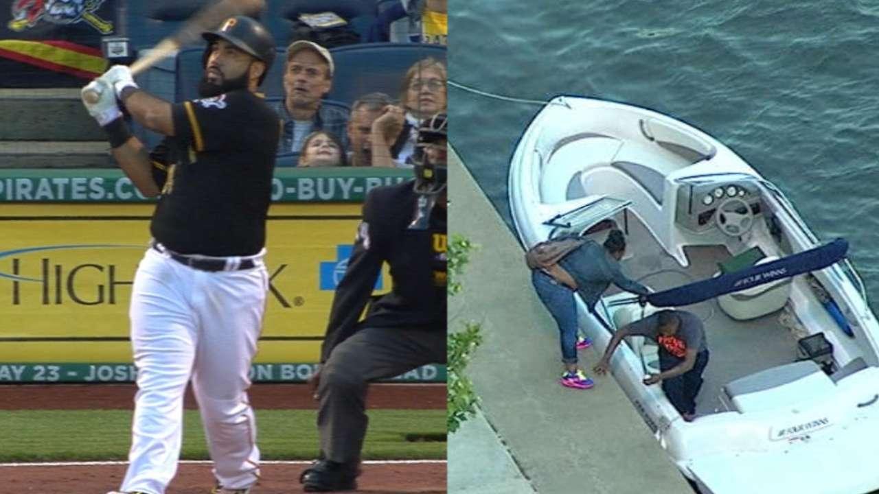 Must C: Alvarez homers into boat