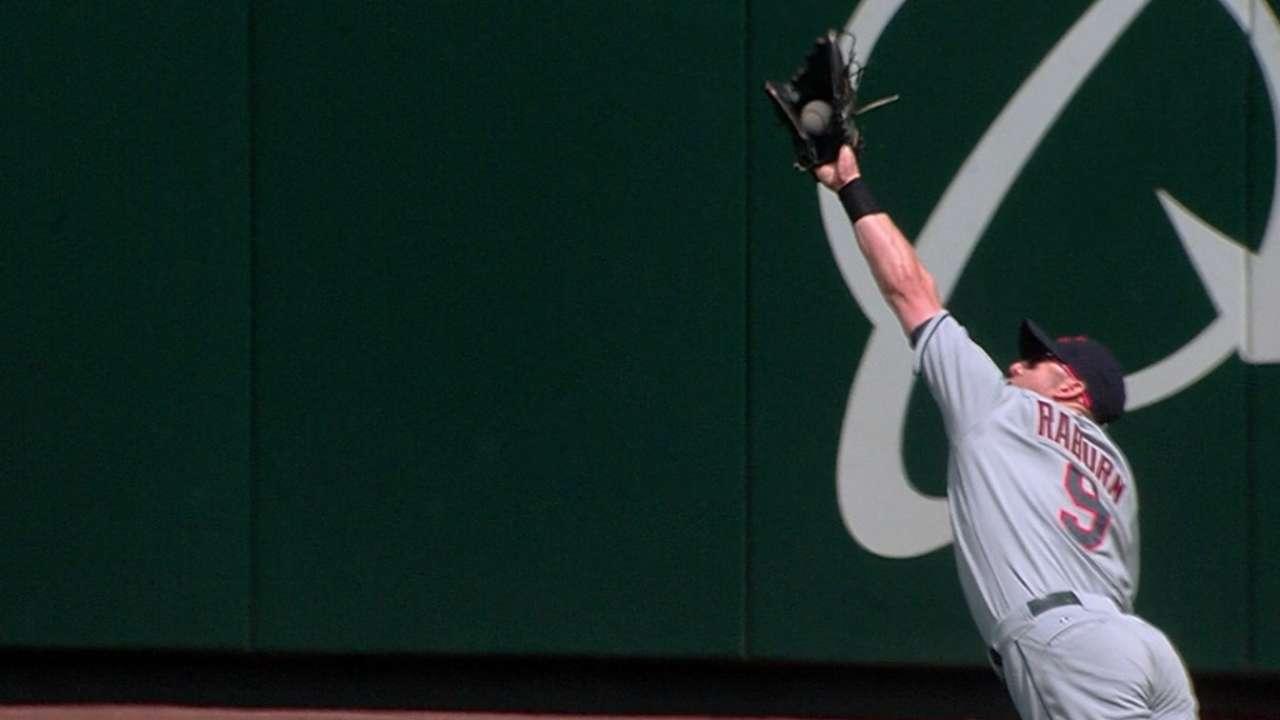 Must C: Raburn's catch, home run