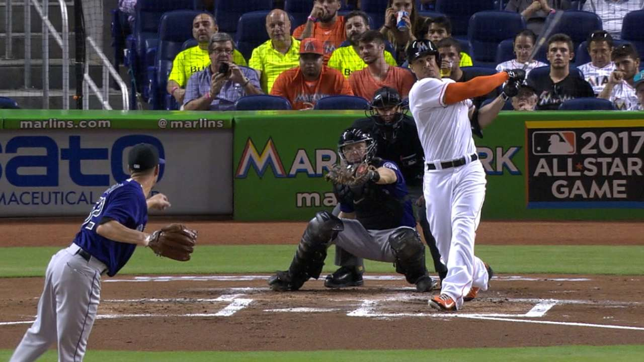 Stanton's hits 22nd home run
