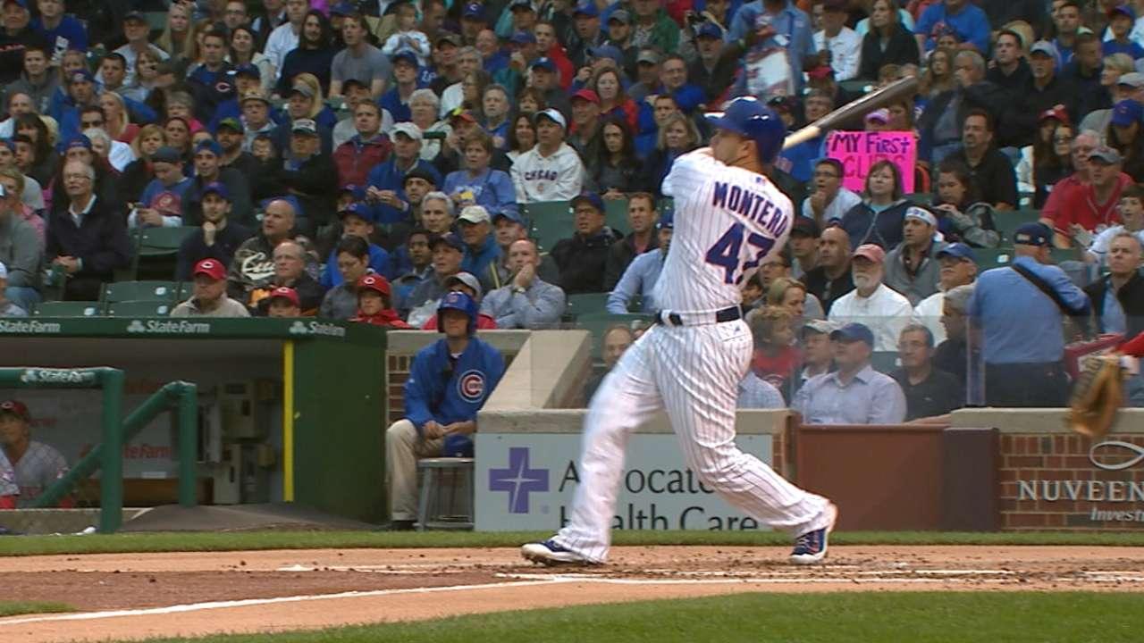 Montero's three-run shot