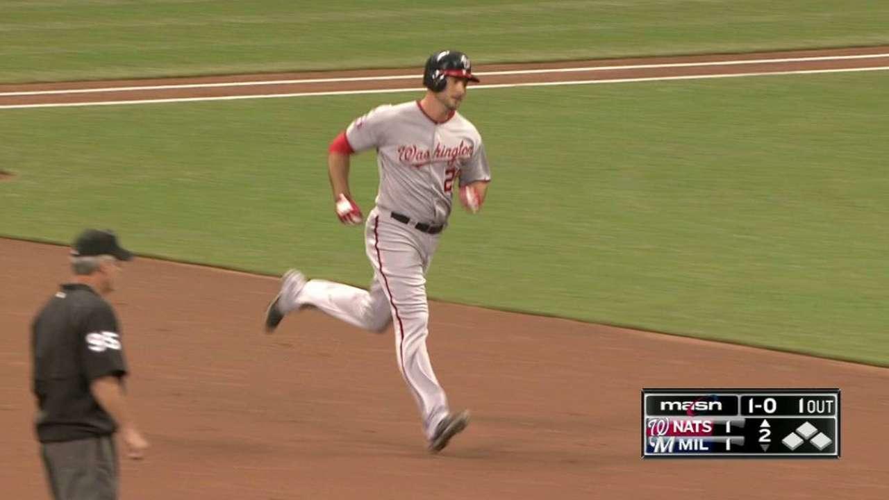 Robinson cherishes first home run