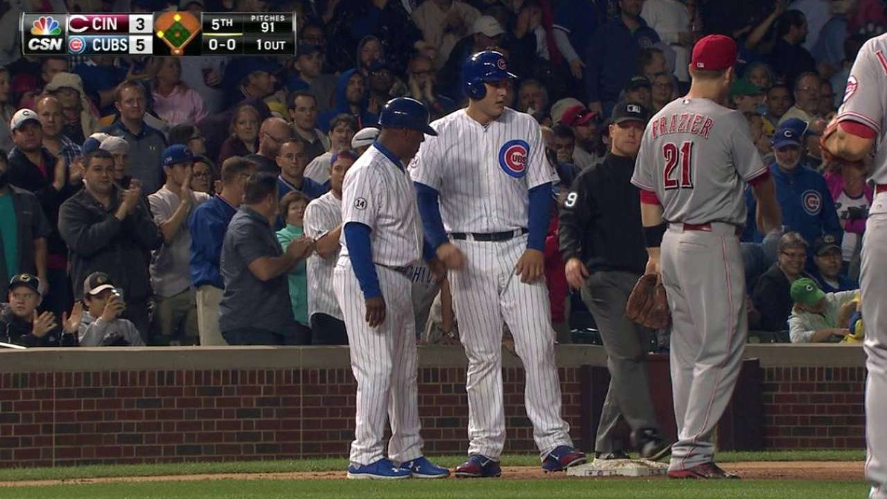 Cubs notes: Bryant cuts down K's in clutch