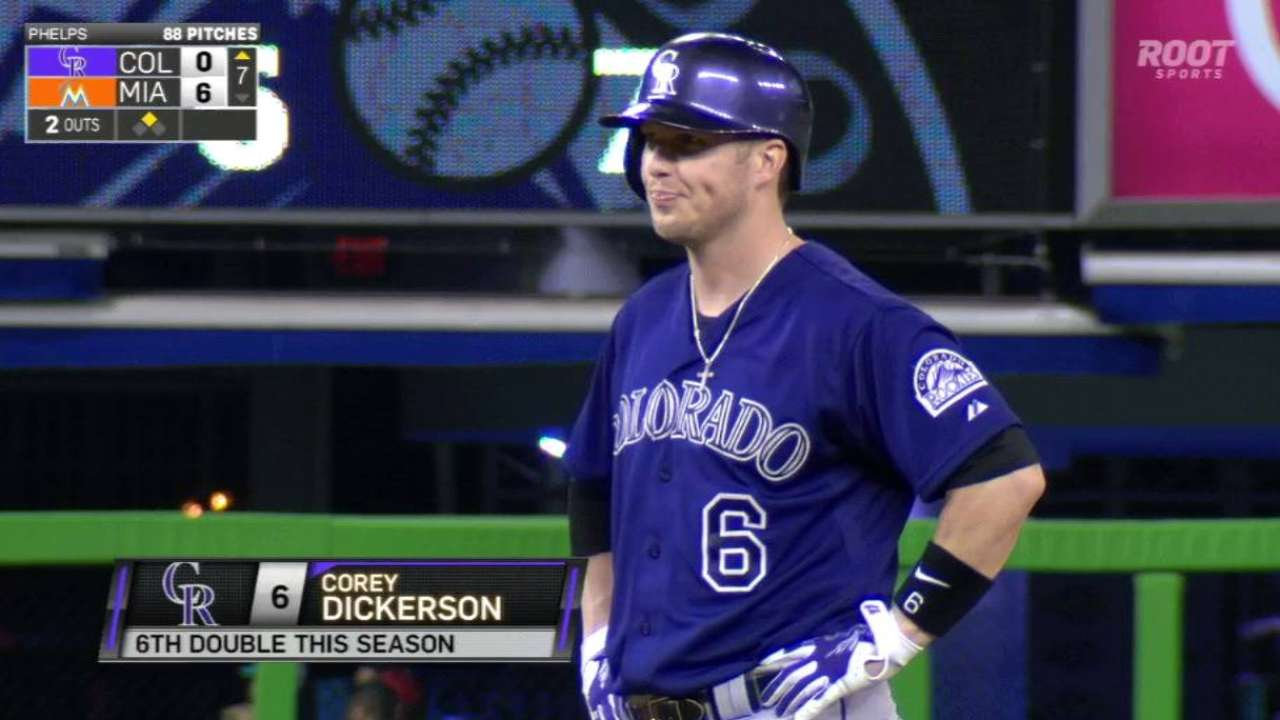 Dickerson could return from injury soon