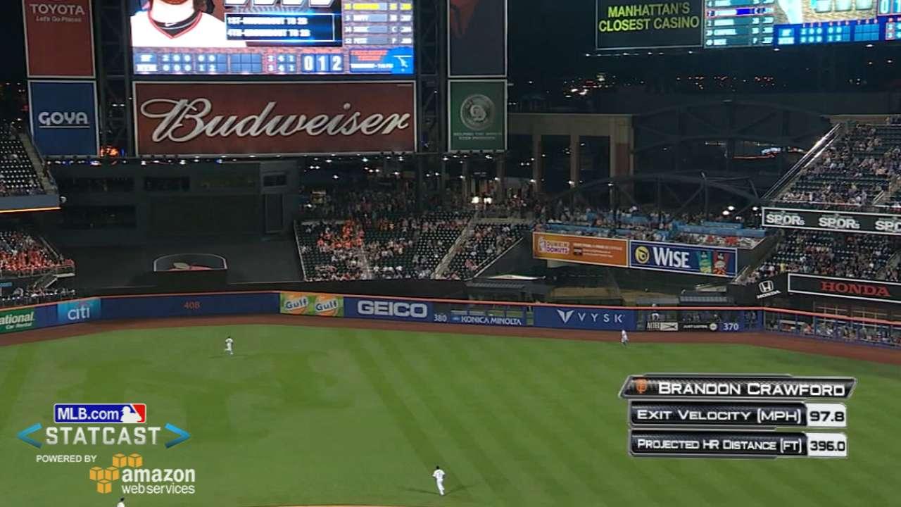 Statcast: Crawford's huge homer
