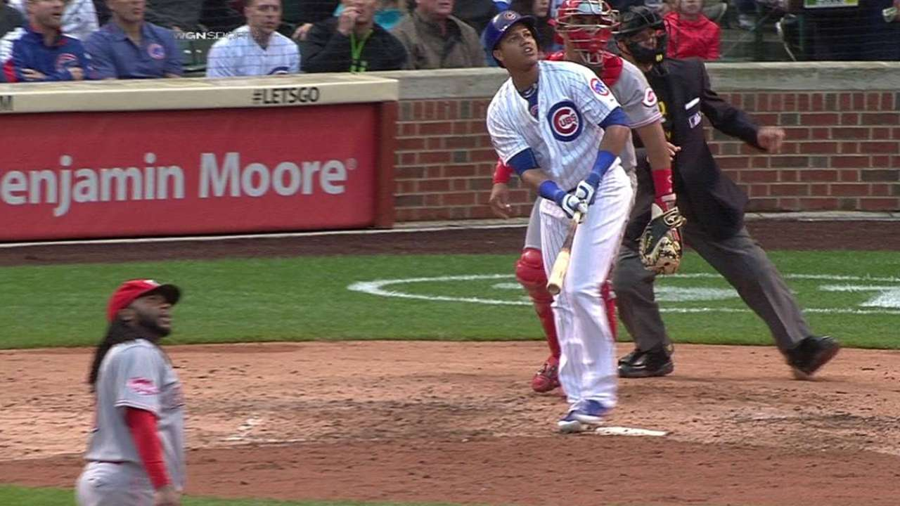 Castro's game-tying two-run shot