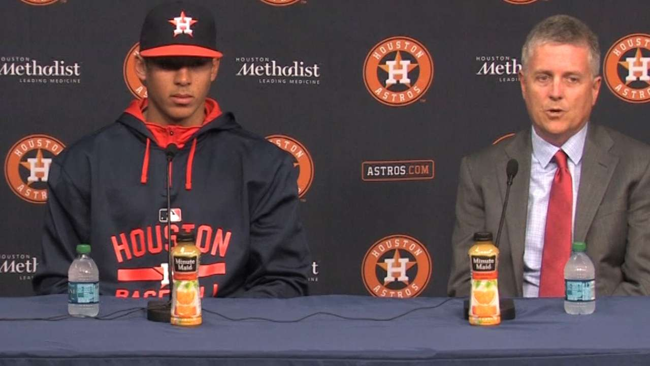 Dad's guidance a steady force for Correa