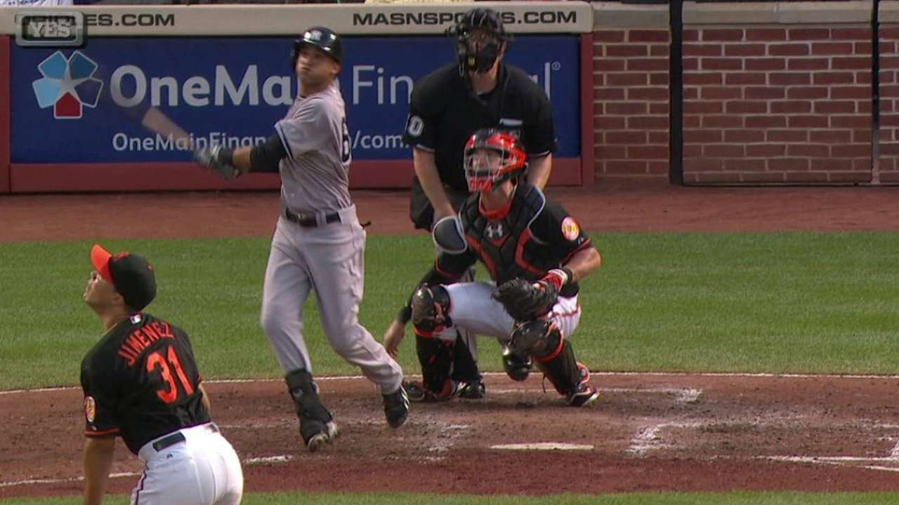 Williams homers for first big league hit
