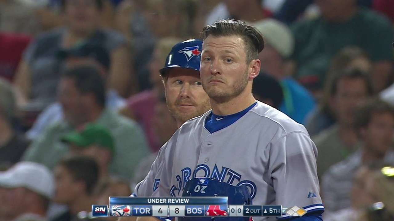 Donaldson safe at first
