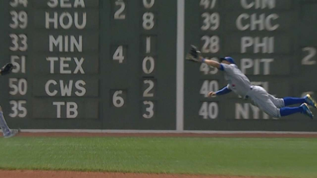 Must C: Pillar's awesome catch