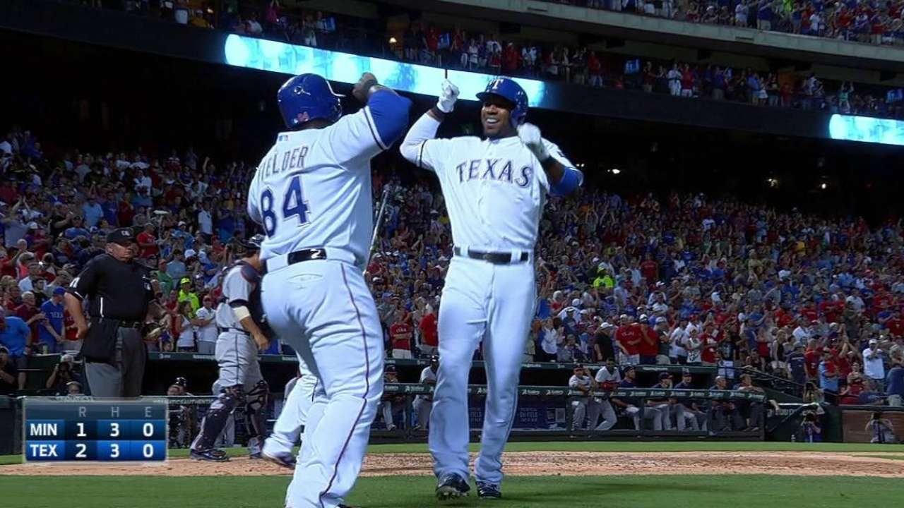 Andrus' clutch homer in 7th