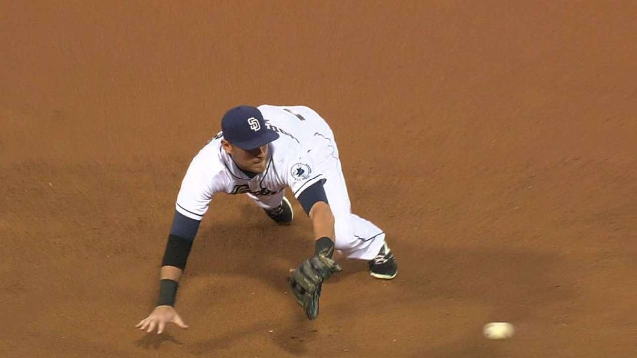 Middlebrooks' diving stop