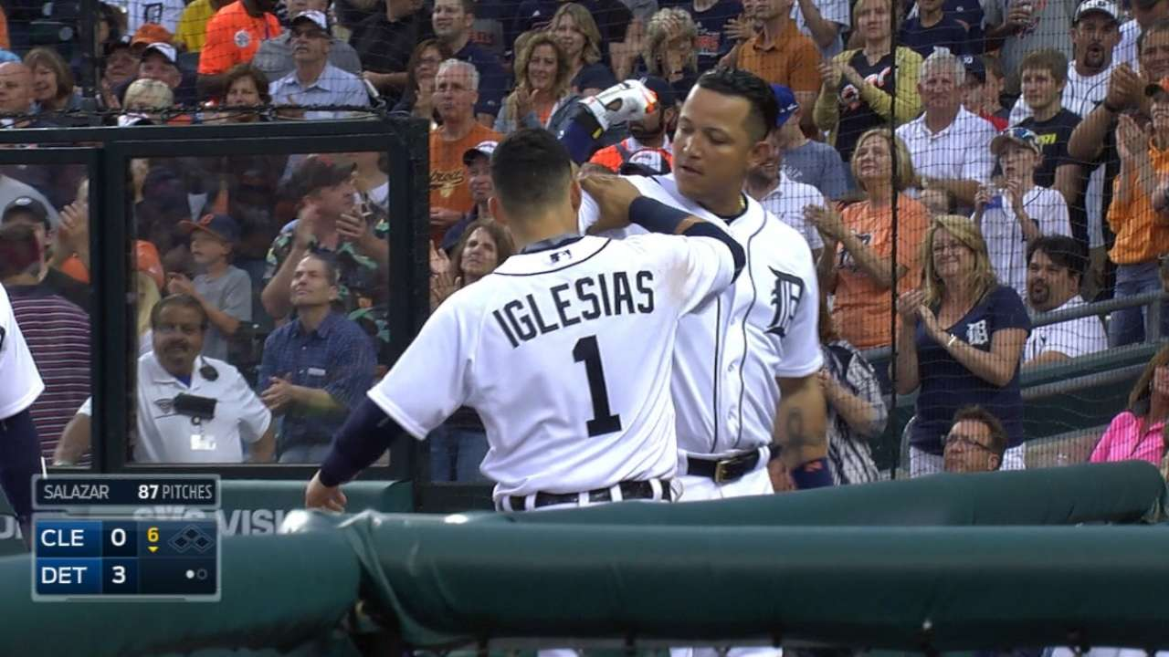 Miggy, Price distance Tigers from Indians