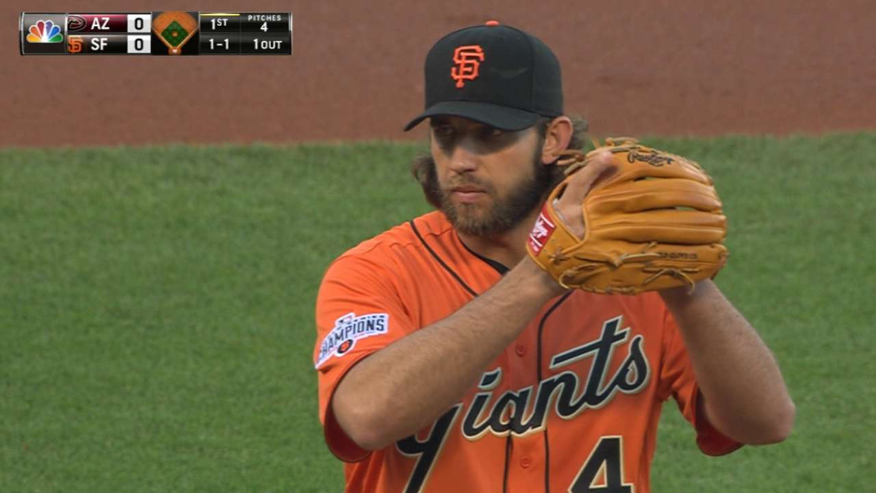 Bumgarner finds positive in tough-luck loss