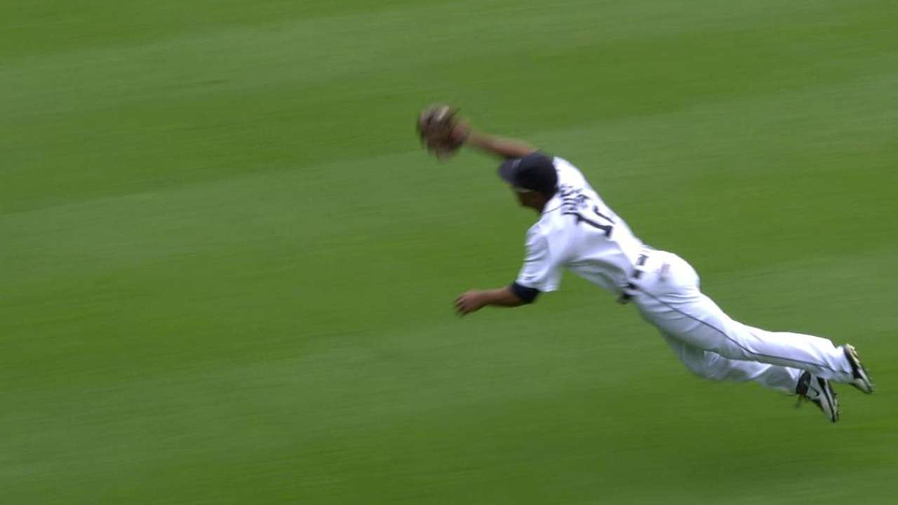Gose's incredible catch