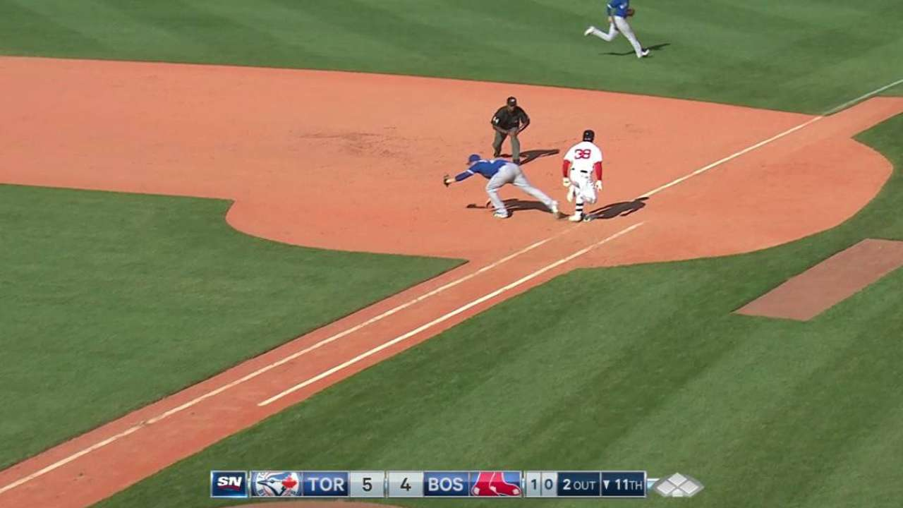 Cecil notches the save