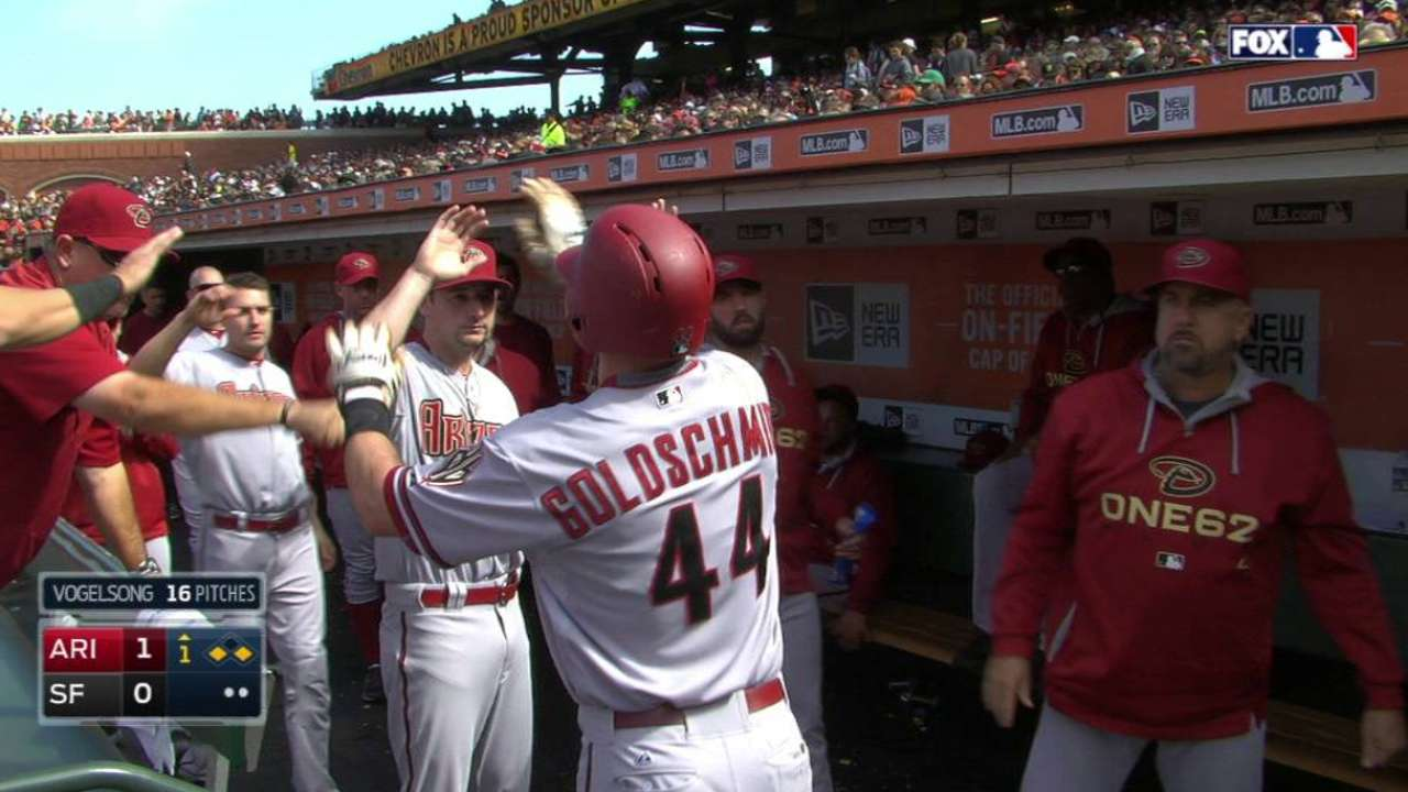 D-backs pounce early to back Webster