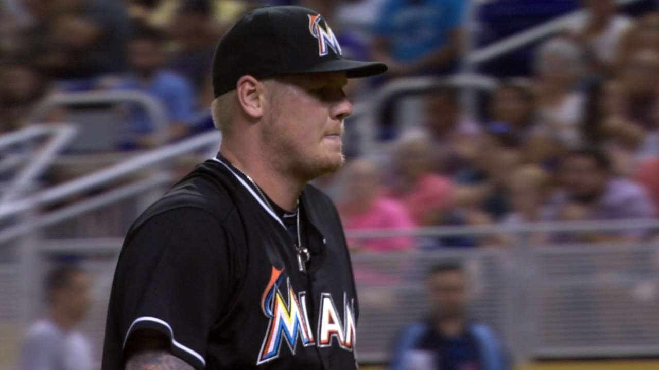 Latos shows what he can do when healthy