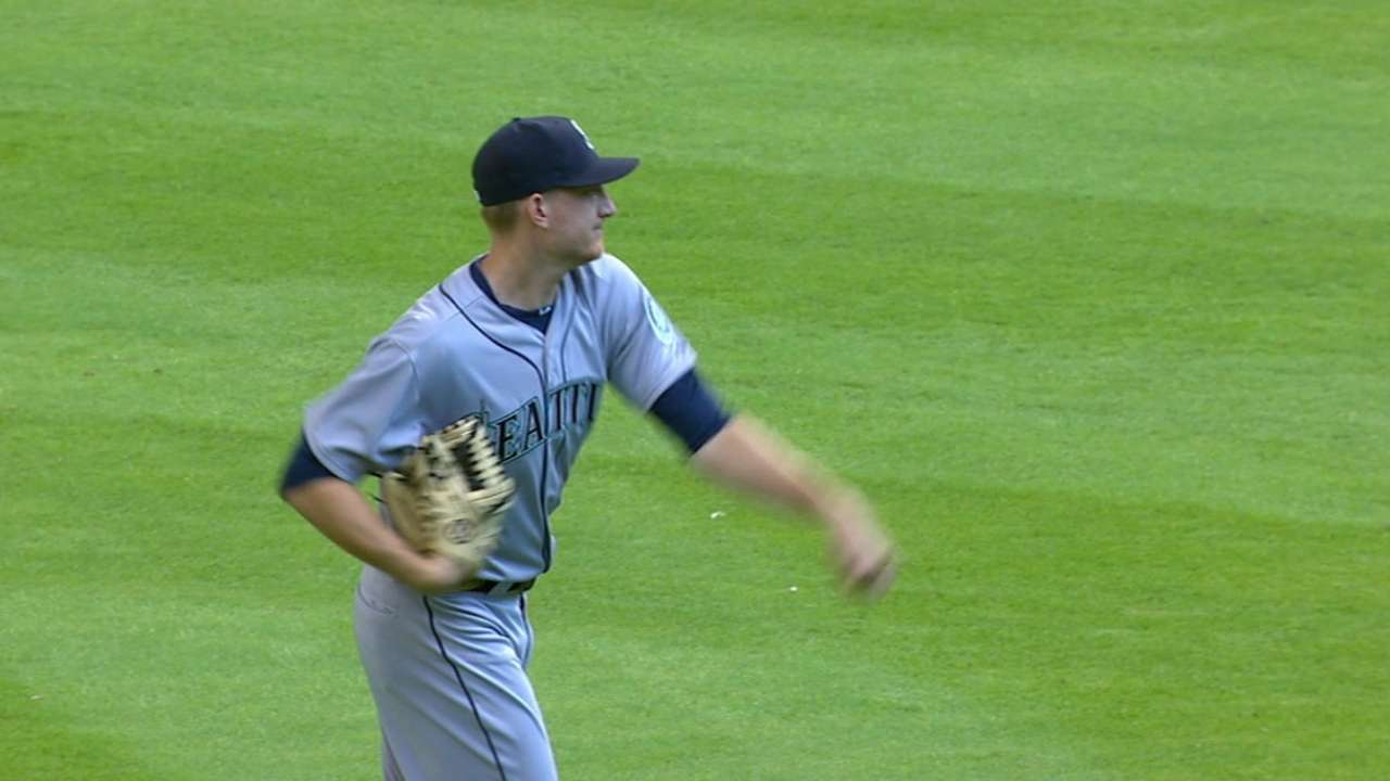 Solid Montgomery claims first big league win