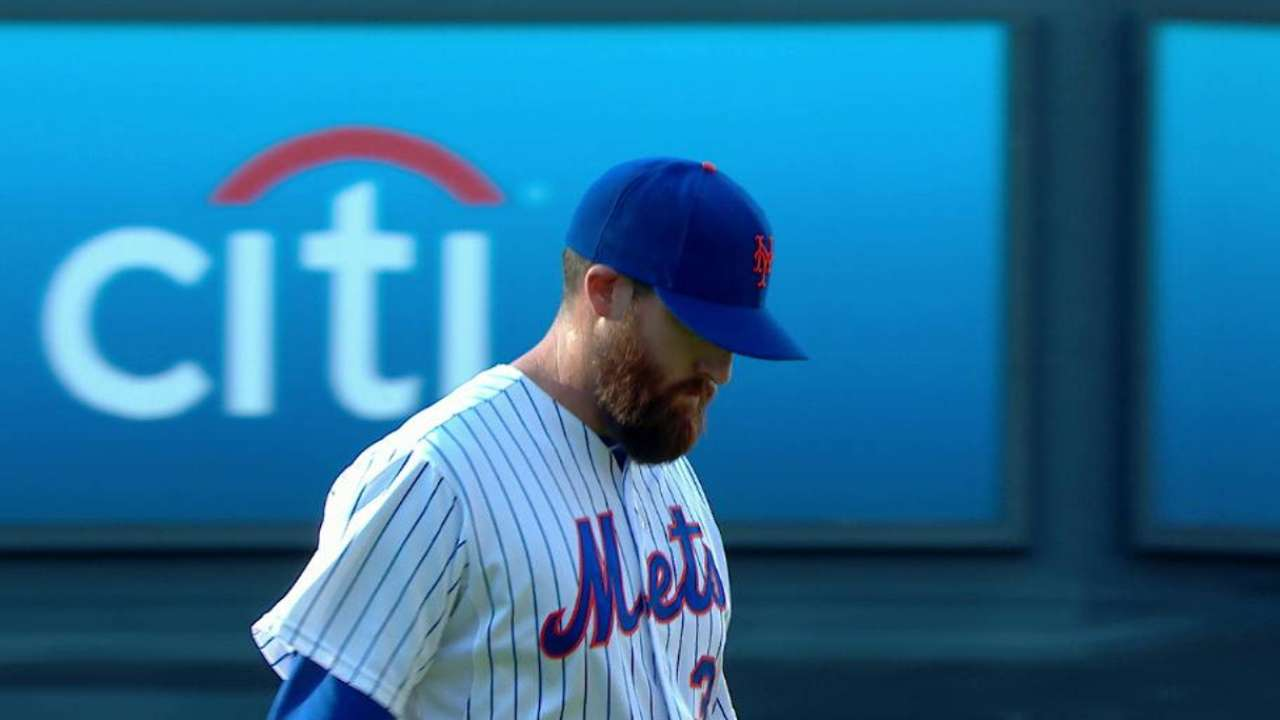 Parnell escapes jam in season debut for Mets