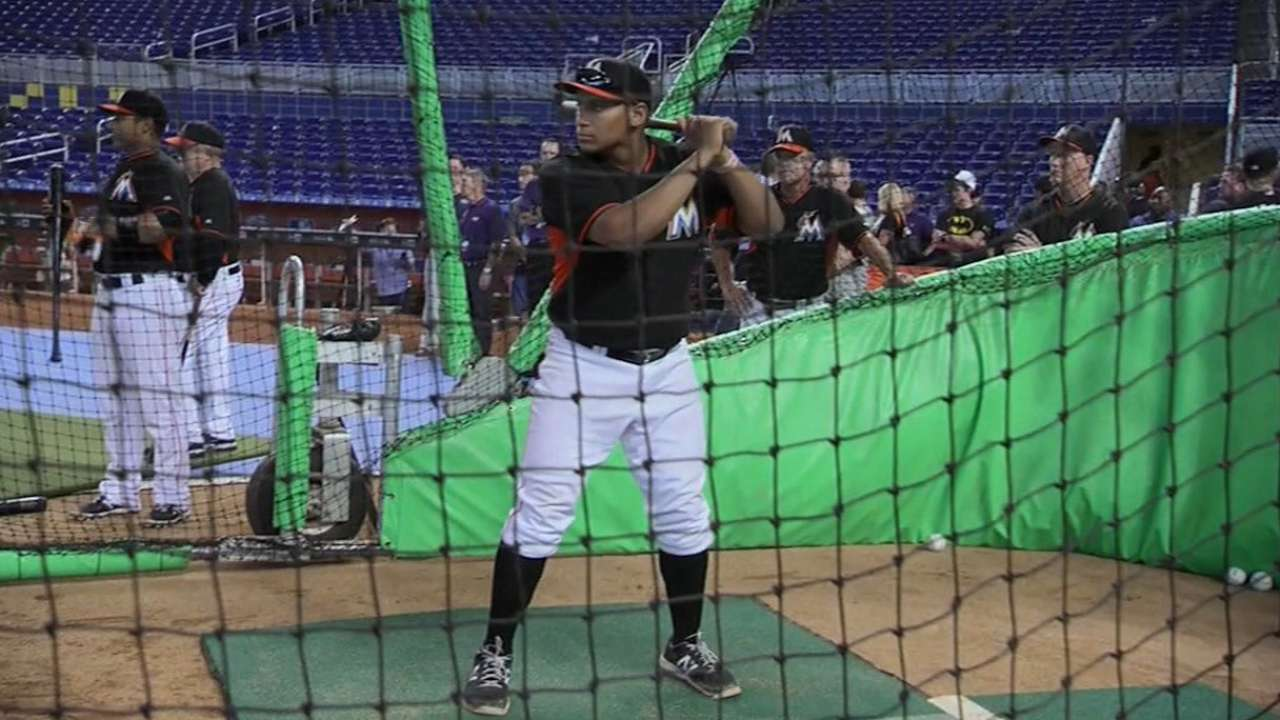 Mono keeps Marlins draftee Naylor sidelined