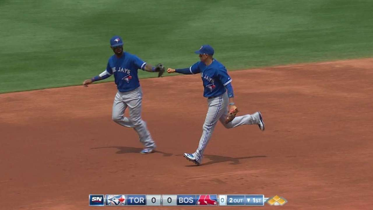 Donaldson turns two to end 1st