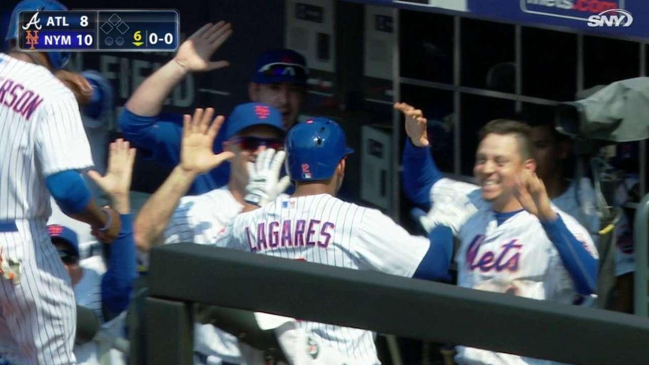 Lagares' three-run homer