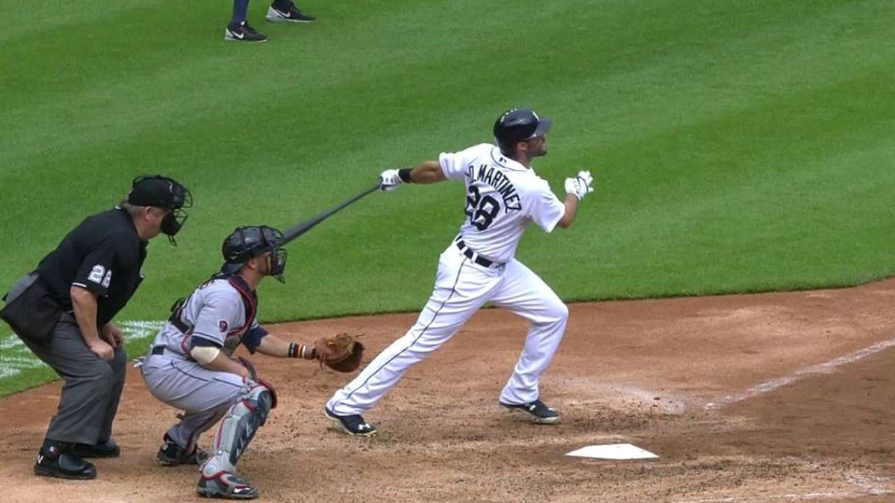 Tigers' bats dominate Tribe to take series