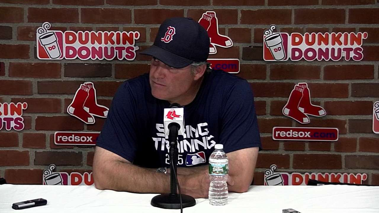 Farrell on Red Sox's 13-5 loss