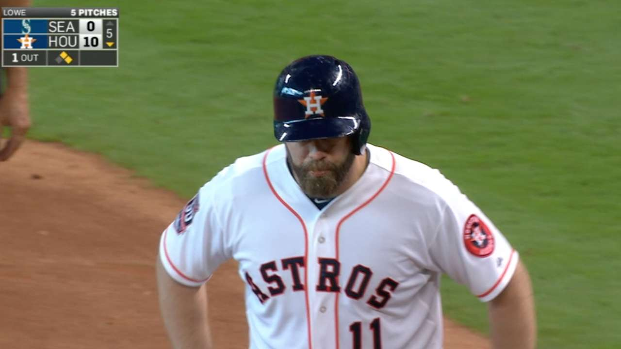 Gattis' four-hit game