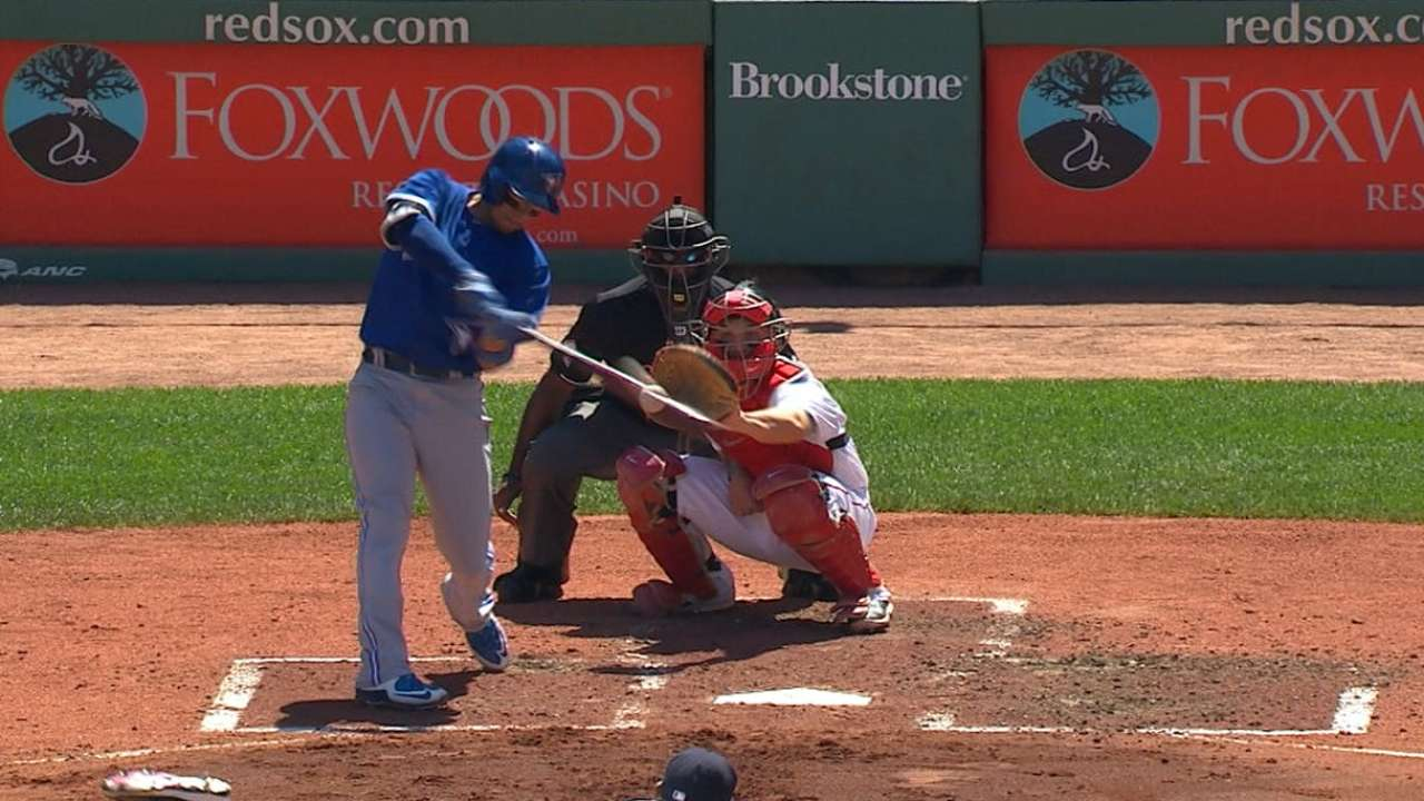 Blue Jays crush Red Sox for 11th straight win