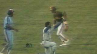 1981 ASG: Baker dives for spectacular grab in left