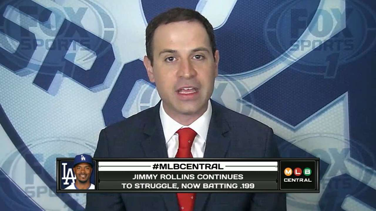 Morosi on the NL Central, Seager