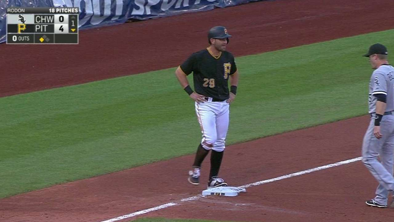 Cervelli, Bucs enjoying record shutout streak