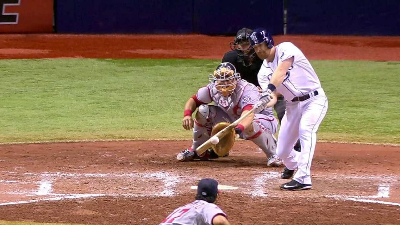 Behind bats, Erasmo helps Rays deny Nats