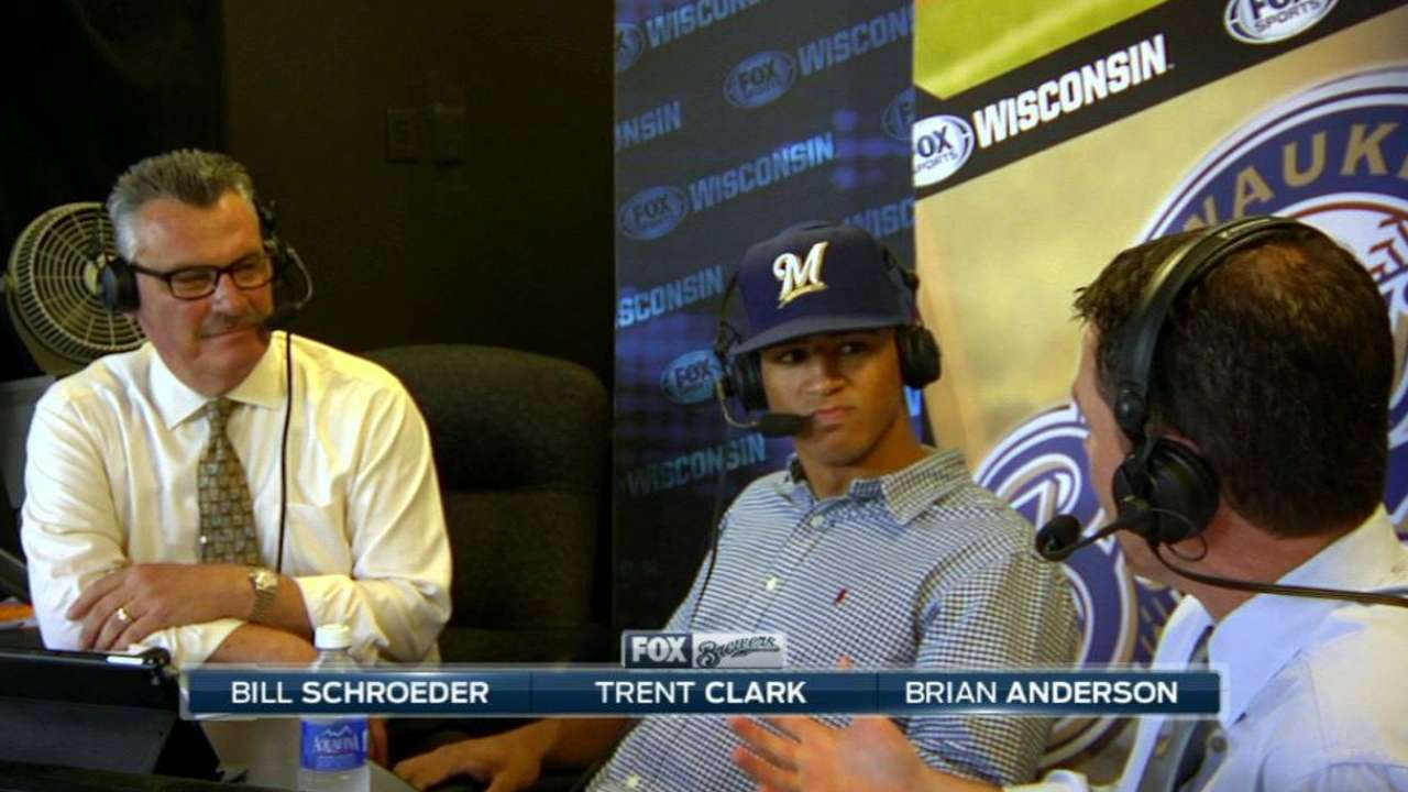 Brewers' top pick applies old-school approach