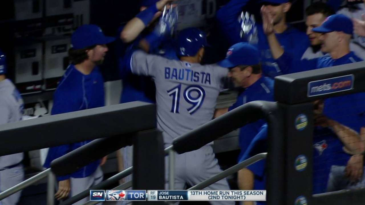 Bautista's game-tying homer