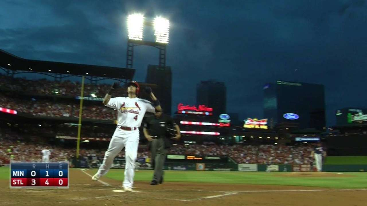 Molina's first homer of 2015