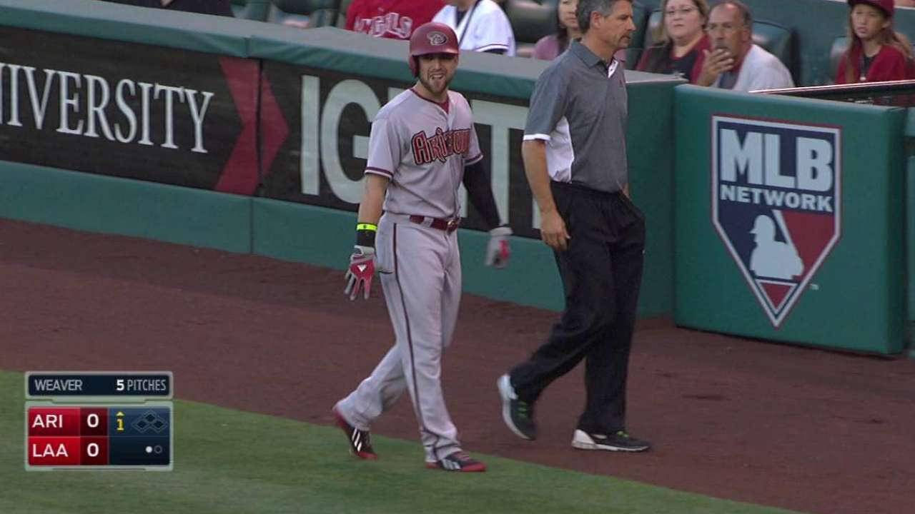 Inciarte headed to DL with hamstring strain