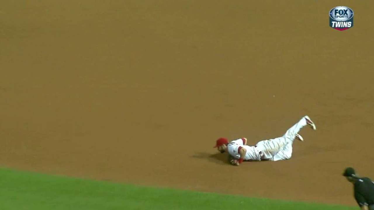 Carpenter's game-ending catch