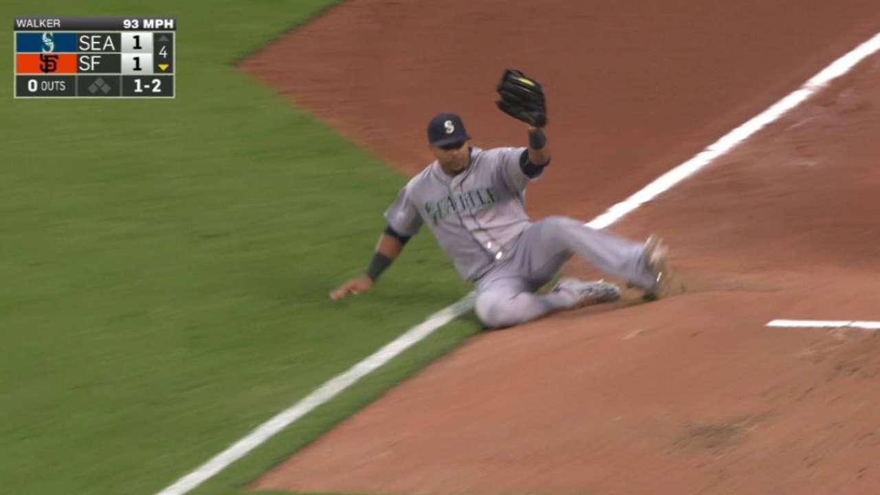 Cruz's sliding catch