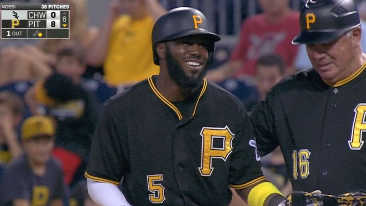Harrison's four-hit game