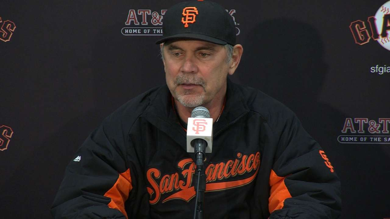 Bochy on offensive woes