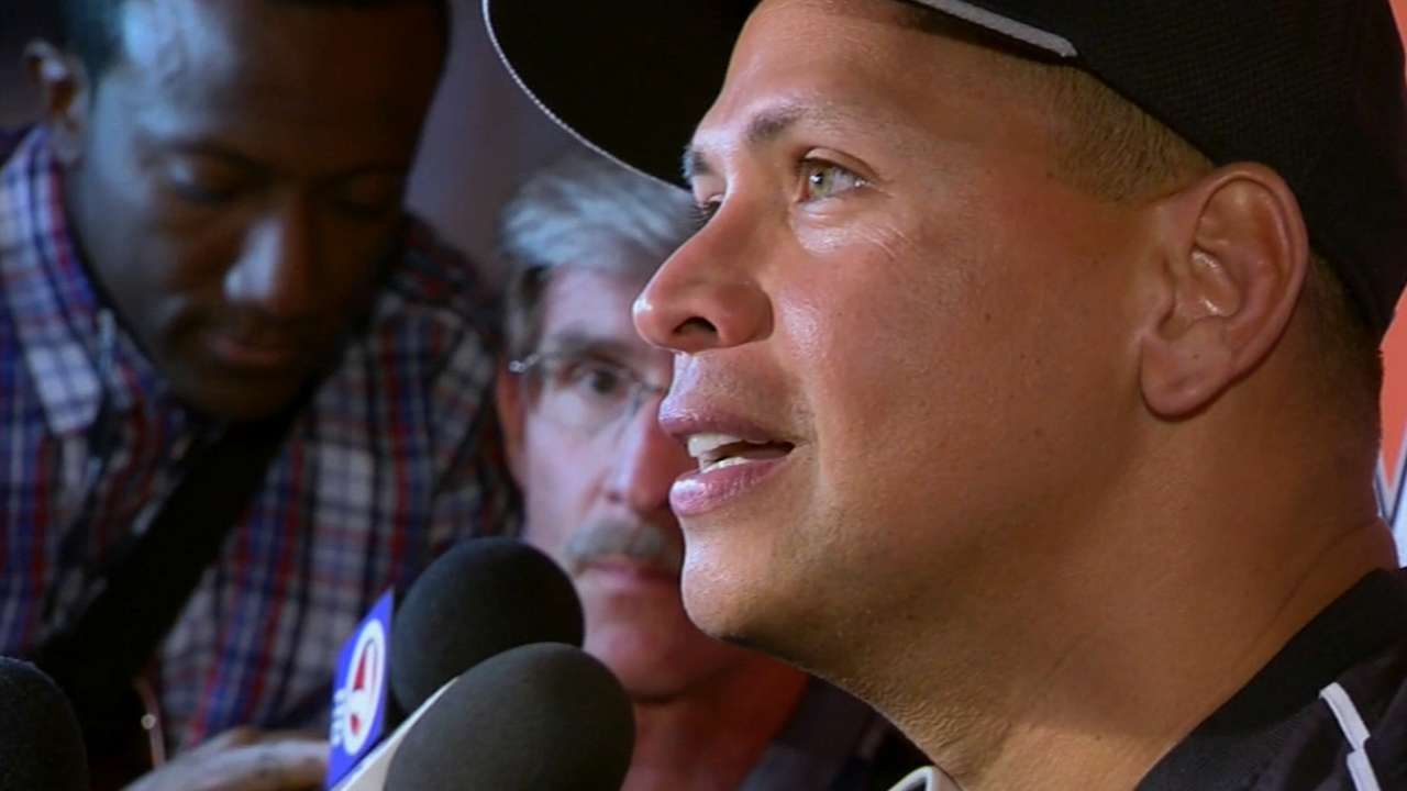 A-Rod on being back in Miami