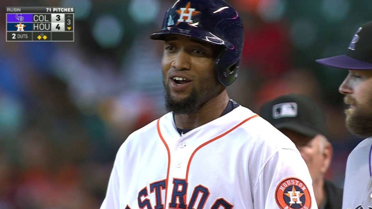 Santana cashes in on opportunity with Astros