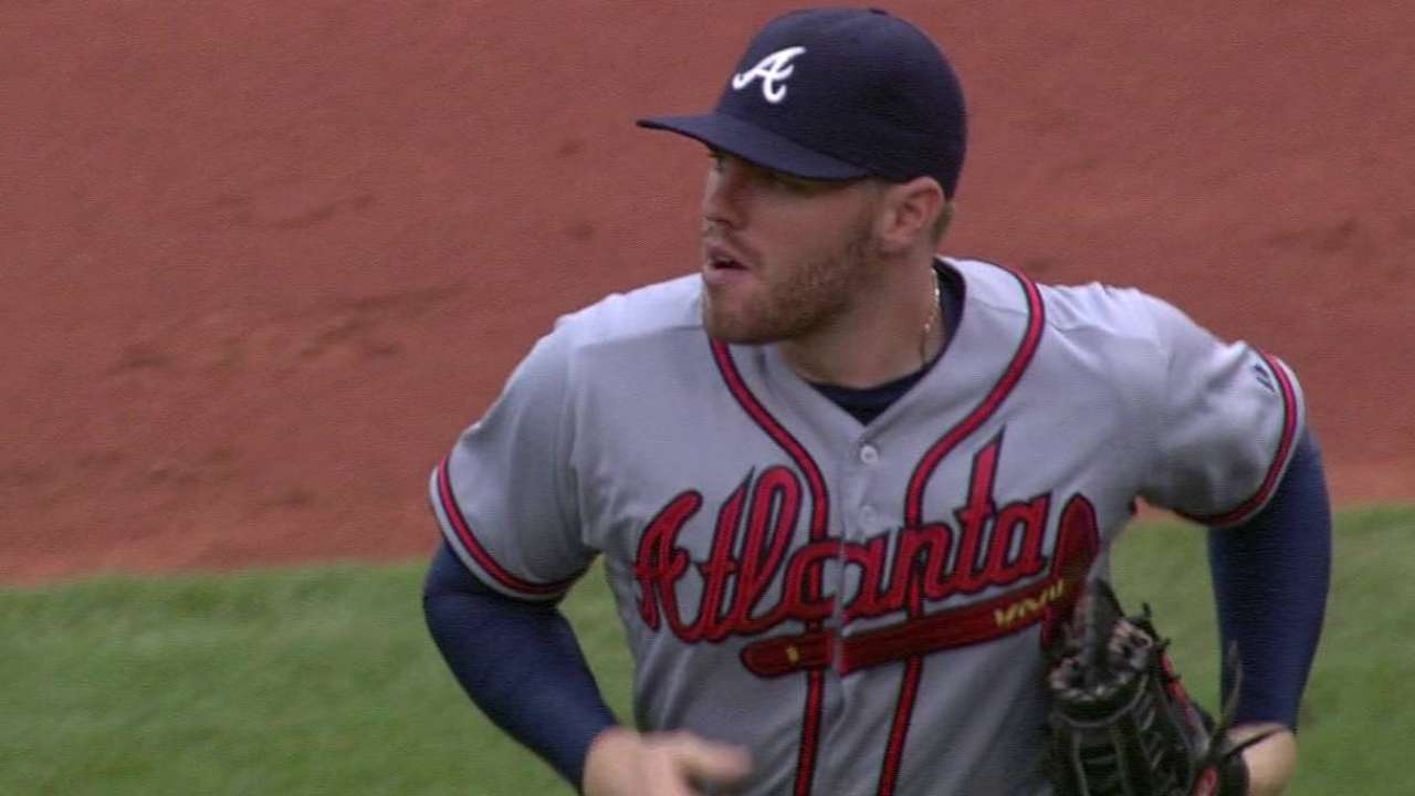 Braves turn double play